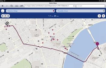 nokia maps navigatie