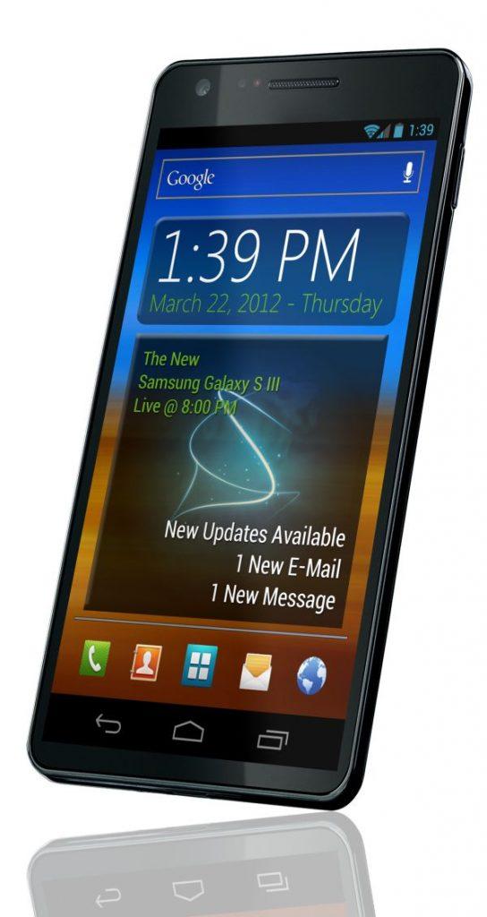 Samsung Galaxy S III 'persfoto'
