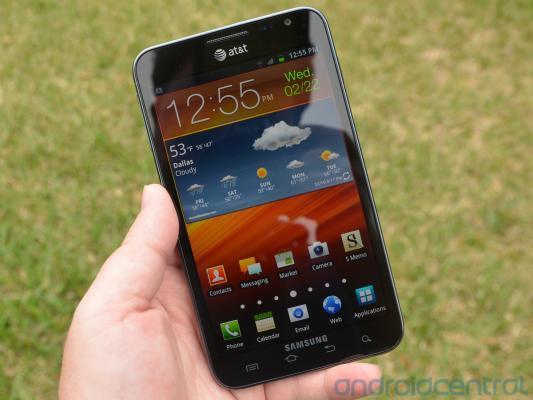 Samsung Galaxy Note krijgt Ice Cream Sandwich binnen drie maanden