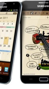 Android 4.0 Ice Cream Sandwich voor Samsung Galaxy Note gelekt