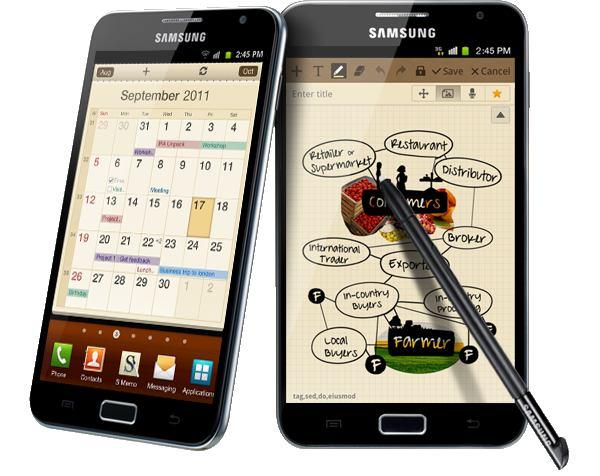 Android 4.0 Ice Cream Sandwich voor Samsung Galaxy Note gelekt