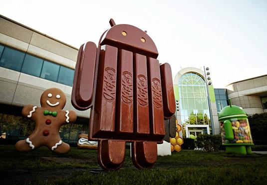 KitKat maakt groei door: nu op ruim 30 procent van Android-toestellen