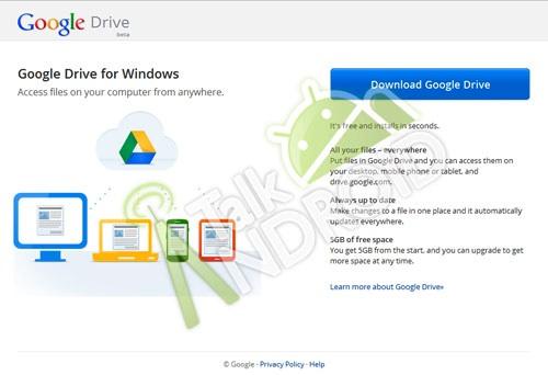 Opslagdienst Google Drive officieel uitgebracht
