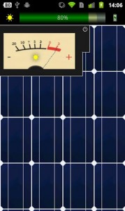 Nutteloze Solar Charger Android-app