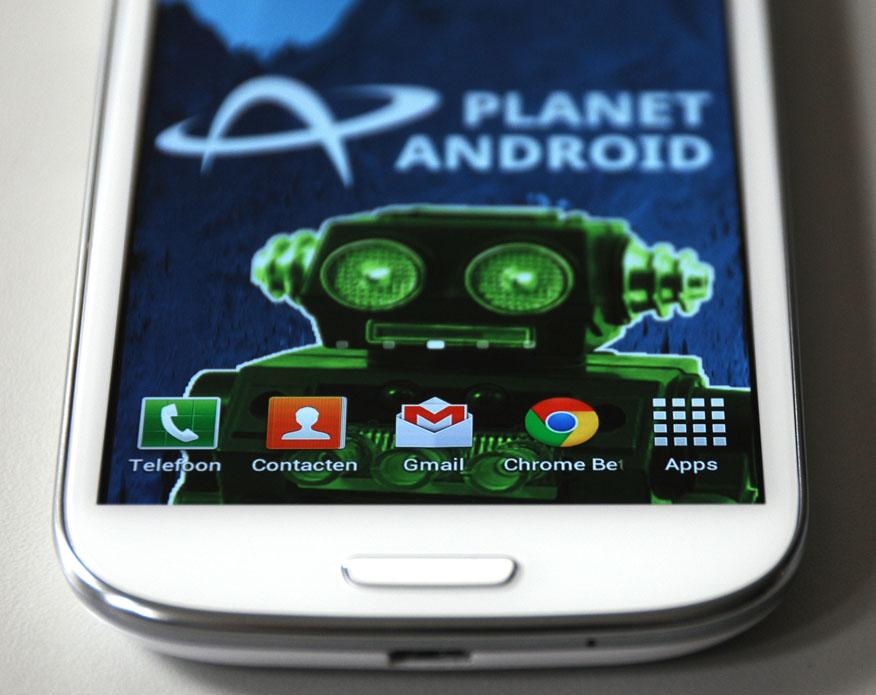 Samsung Galaxy S III - scherm