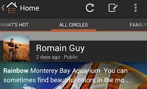 Google+ nieuw design