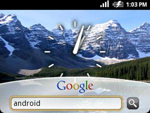 google-android-scherm