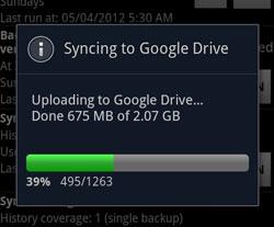 Titanium Backup maakt nu back-ups naar Google Drive