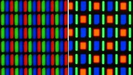 RGB vs. Pentile
