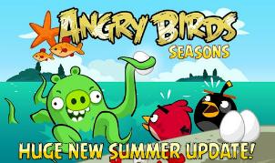 Angry Birds Seasons krijgt update, voegt onderwaterwereld Piglantis toe