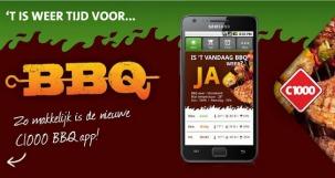 De ultieme app voor de BBQ-liefhebber