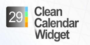 Clean Calendar Widget: een simpele en gemakkelijke kalender-widget