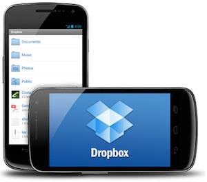 Dropbox voor Android ondersteunt nu ICS-videostreaming