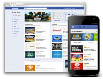 facebook app center desktop