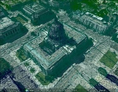 google maps 3d figuur