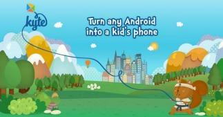 Kytephone verandert elk Android-toestel in een kindvriendelijke smartphone