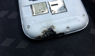 Samsung onderzoekt exploderende Galaxy S III