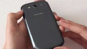 Samsung Galaxy S III Metallic Blue