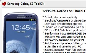 Samsung Galaxy S III Toolkit: handig hulpje voor de beginnende rooter