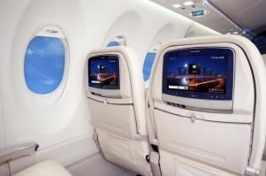 Boeing 787 Dreamliner krijgt op Android gebaseerd entertainmentsysteem