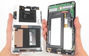 Nexus 7 uit elkaar