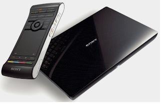 Sony introduceert Google TV: interactieve mediaspeler met Android