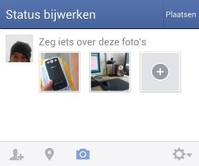 Update Facebook voor Android maakt delen van foto's sneller en gemakkelijker