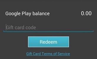 Google Play Store gaat cadeaukaarten en wenslijst introduceren