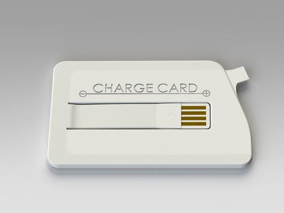 ChargeCard: compacte Android-lader voor in je portemonnee