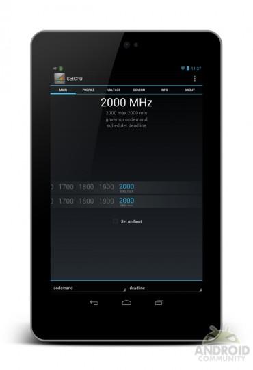 Overgeklokte Nexus 7 behaalt unieke monsterscore in benchmark-app