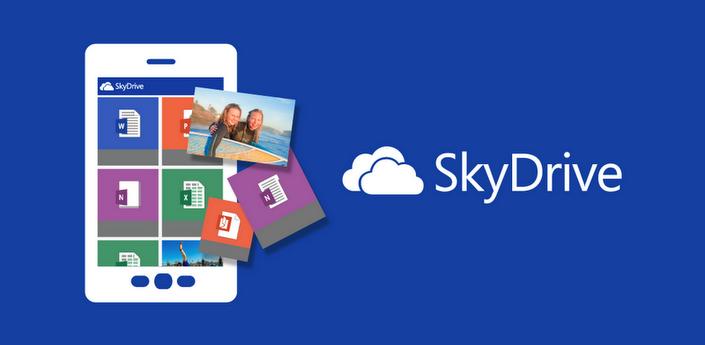 Microsofts online opslagdienst SkyDrive nu beschikbaar voor Android