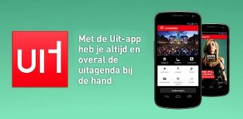 Uitburo lanceert Uit: Android-app boordevol uitgaansinformatie
