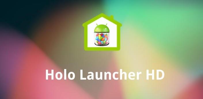 Krijg het Jelly Bean-homescreen op je Android-toestel met Holo Launcher HD