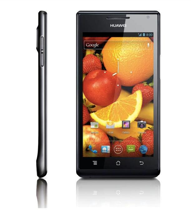 Huawei lanceert knappe en dunne midrange Android-smartphone: Ascend P1