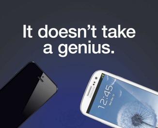 Nieuwe advertentie Samsung neemt iPhone 5 op de hak