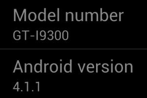 Nieuwe, officiële en stabiele Jelly Bean-versie voor Galaxy S III gelekt