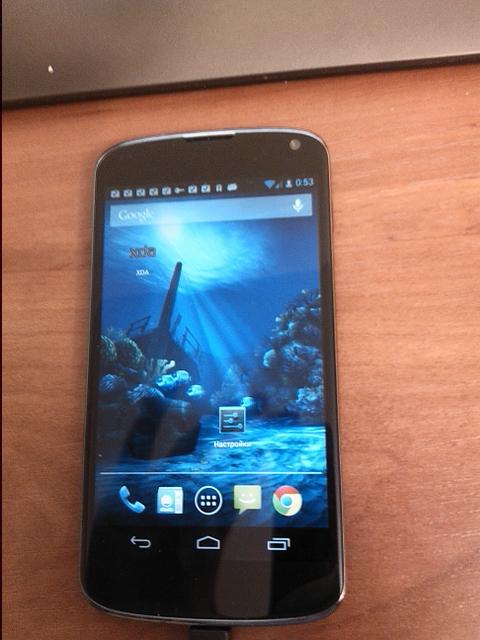 'Meer duidelijke foto's en specifieke details van LG Optimus Nexus gelekt'