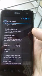 Android 4.1 Optimus 2X