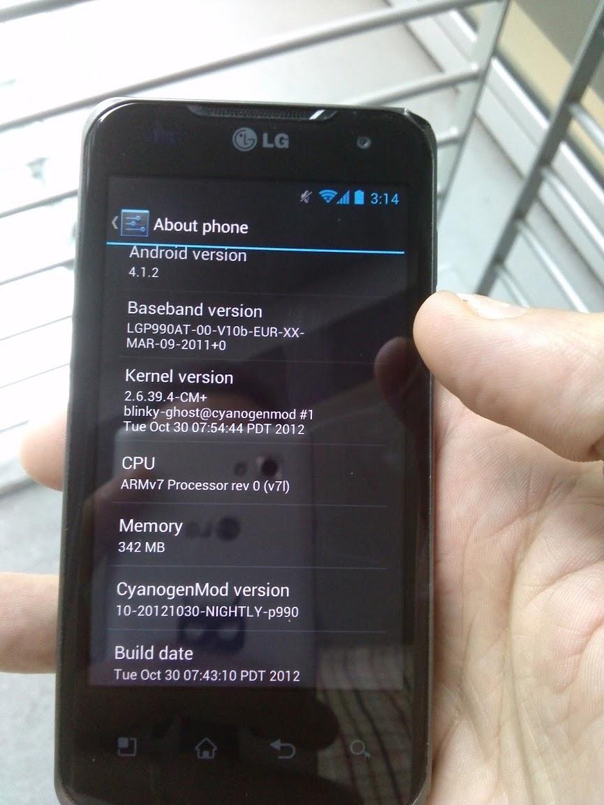 CyanogenMod brengt Android 4.1 Jelly Bean voor LG Optimus 2X Speed uit