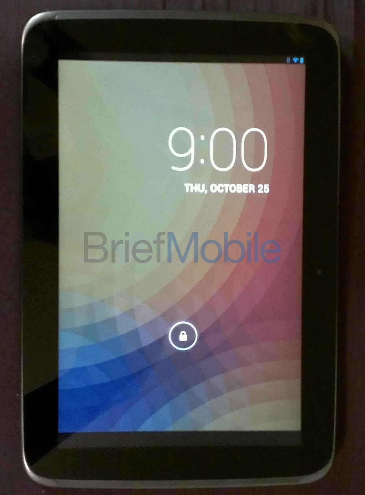 'Eerste duidelijke foto's Google's high-end tablet Nexus 10 lekken uit'