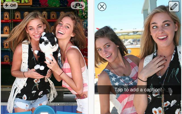 Populaire 'sexting'-app Snapchat ook beschikbaar voor Android