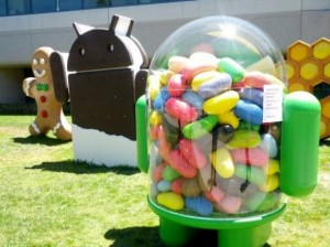 Android Ice Cream Sandwich en Jelly Bean