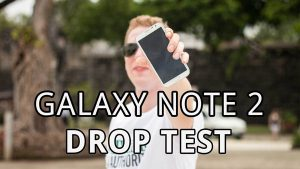 Galaxy Note droptest