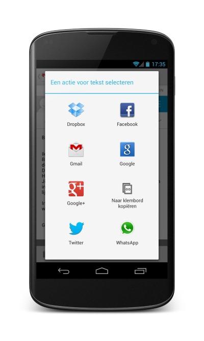 Update Google Drive voegt handige nieuwe deelfunctie klembord toe