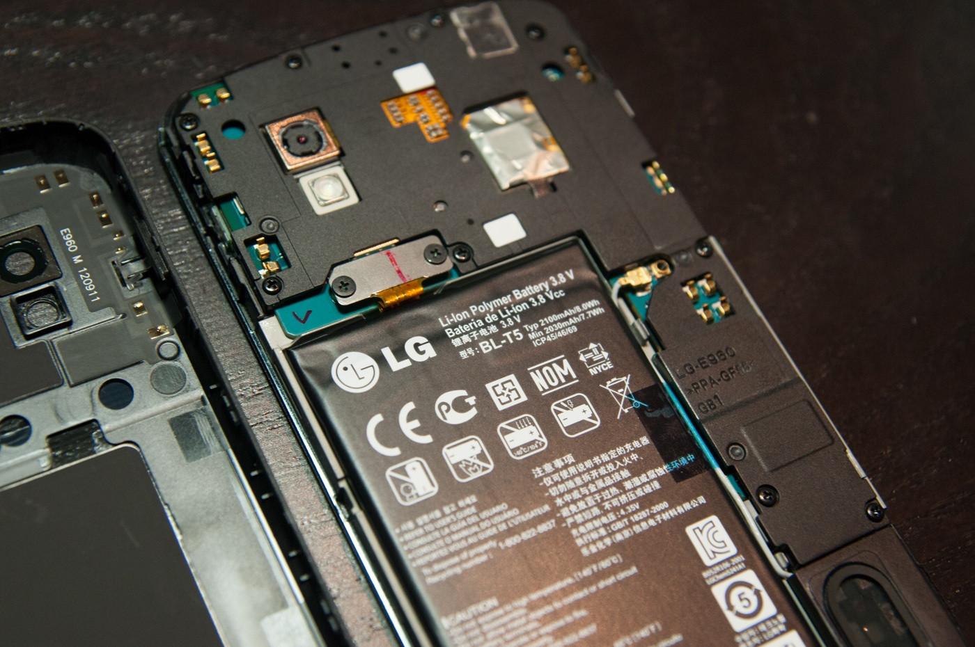 'Batterij Nexus 4 gemakkelijk vervangbaar'