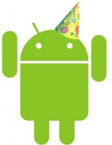 Hiep hiep hoera: Android bestaat vandaag vijf jaar