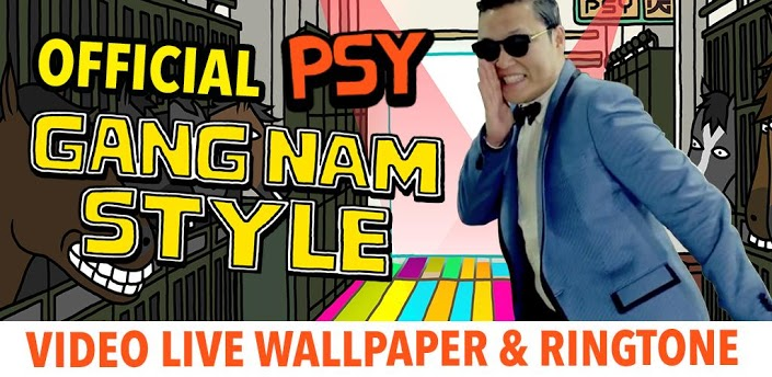 Officiële Gangnam Style-app te downloaden in Google Play Store