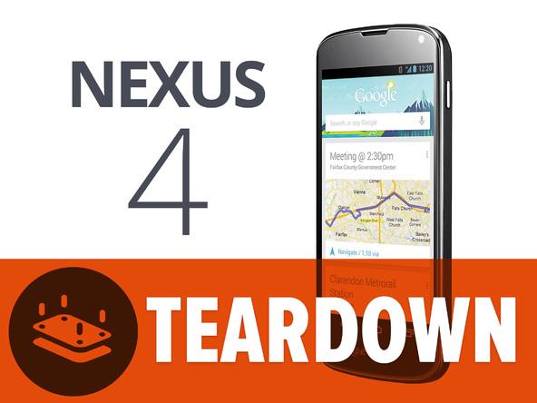 Zo ziet de Nexus 4 er van binnen uit