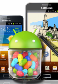 Samsung Galaxy S II and Galaxy Note krijgen Android 4.1.2 Jelly Bean in januari