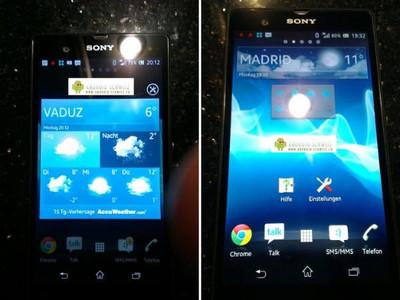 'High-end smartphone Sony Xperia Z vanaf januari te koop'